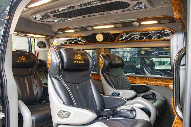 Nội thất sang trọng - Anh Quốc Limousine