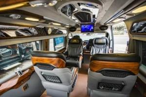 Hệ thống trong xe - Xe VIP Vũng Tàu đi Sân Bay