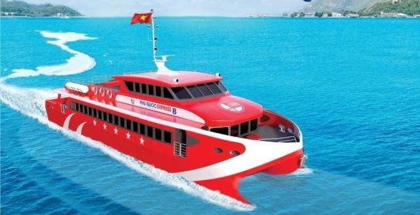Tàu cao tốc du lịch Côn Đảo