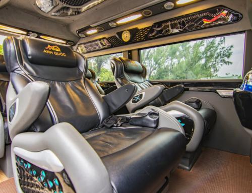 Cực kỳ thoải mái trên xe limousine ghế massage đi sân bay Tân Sơn Nhất