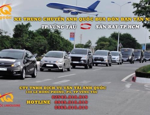 Đưa đón khách tận nhà tại Vũng Tàu bằng xe trung chuyển