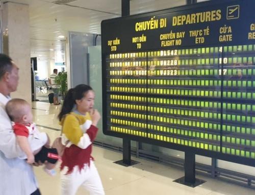 Từ ngày 1/10/2019: Sân bay Tân Sơn Nhất ngừng phát loa thông báo chậm, huỷ chuyến