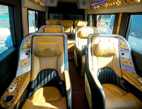 Đi xe limousine mà ngồi ghế hạng nhất (First Class) như máy bay
